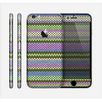 The Colorful Knit Pattern Skin for the Apple iPhone 6
