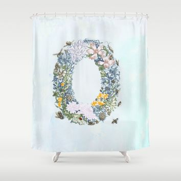 Delight Shower Curtain by anipani