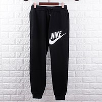 NIKE Fashion Women Men Print Lover Pants Trousers Sweatpants