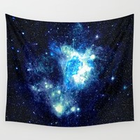 NEbula. Wall Tapestry by 2sweet4words Designs