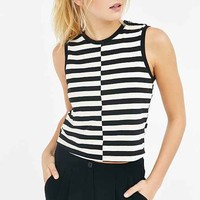 Truly Madly Deeply Split Cropped Top