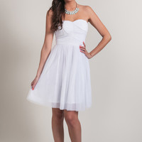 Wendy White Tulle Dress by Ark n Co