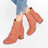 ASOS REMY Loafer Ankle Boots at asos.com