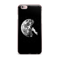 "BarmalisiRTB ""The Night Has Come"" Black White iPhone Case"