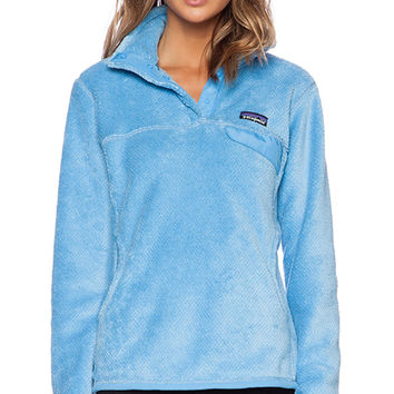 Patagonia Re-Tool Snap-T Pullover in Blue