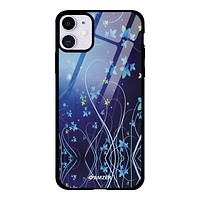 Glass Case Cover:Midnight Lily