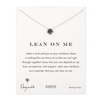 lean on me tree necklace, sterling silver