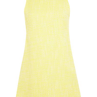 Yellow Boucle Shift Dress - View All - New In
