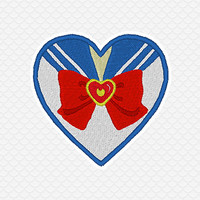 Patch Sailor Moon Fuku Heart