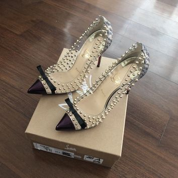 christian louboutin 39.5 Bille et Boule 100mm
