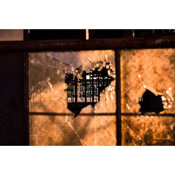 Light Abandoned, A Chattanooga Sunset : An Abandoned to Grace Wall Art Print