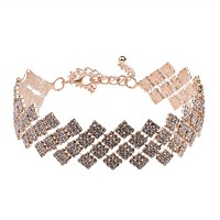 New fashion jewelry personality retro diamond necklace