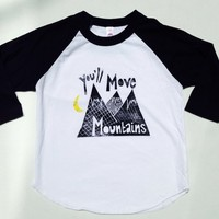 Movin' Mountains Raglan from Olive MTN Designs