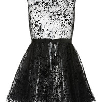 Polka Dot Tulle Mini Dress by Giambattista Valli - Moda Operandi