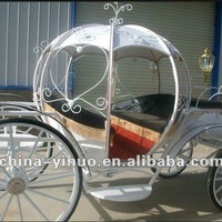 Romantic White Four Wheels Steel Cinderella Pumpkin Horse Drawn Carriage For Sale - Buy Cinderella Pumpkin Carriage,Sulky Horse Carriage,Used Horse Carriages For Sale Product on Alibaba.com