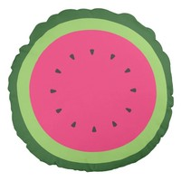 Watermelon Round Pillow