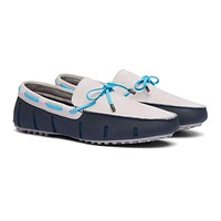 Braided Lace Lux Loafer Driver Nubuck by SWIMS