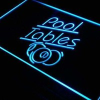 Billiards Pool Tables Neon Sign (LED)