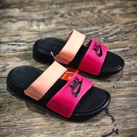 Nike Benassi Swoosh Sandals Style #7 Slippers - Best Online Sale