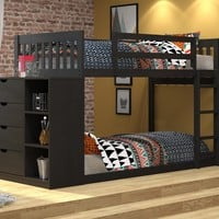 Ryder Black Bunk Bed