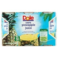 Dole Juice, Pineapple, 6 Ounce Cans (Pack of 6)