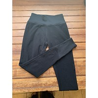 ALO Yoga Black Jogger Leggings (M)