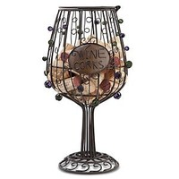 Epic Products Cork Cage Wine Glass, 12-Inch