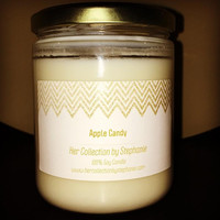 Apple Candy Soy Candle