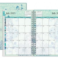 July 2015 - June 2016 Lianne Frosted Weekly/Monthly Planner 5x8