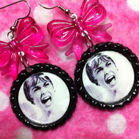 Psycho Classic Horror Earrings