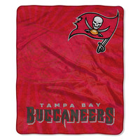 Tampa Bay Buccaneers NFL Sherpa Throw (Strobe Series) (50in x 60in)