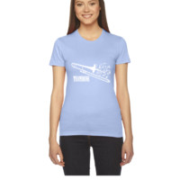 Trombone with Swirls - Women's Tee