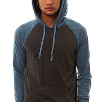 RVCA The Castro Pullover Hoody in Charcoal Heather : Karmaloop.com - Global Concrete Culture
