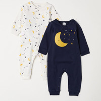 2-pack Jersey Jumpsuits - from H&M