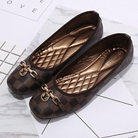 LV Louis Vuitton Women Fashion Casual Flats Shoes