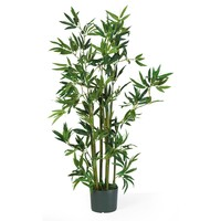 Artificial Plant -4 Foot Bamboo Silk Plant