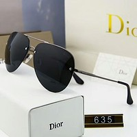 Dior Stylish Women Men Simple Summer Sunglasses Sun Shades Eyeglasses Glasses Black I-A-SDYJ