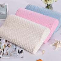 Soft Travel Memory Foam Space pillow 30 x 50cm Slow rebound memory foam throw pillows neck cervical healthcare pillows U0301