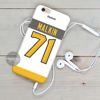 Pittsburgh Penguins Malkin  iPhone Case Cover Series