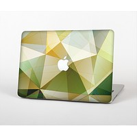 """The Green Geometric Gradient Pattern Skin for the Apple MacBook Air 13"""""""