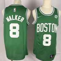 Nike Boston Celtics #8 Kemba Walker Jersey Green