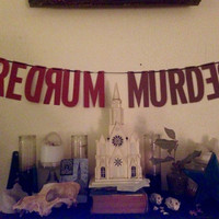 The Shining | Redrum Handmade Banner