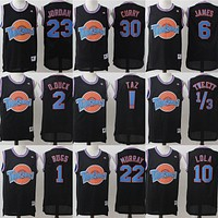 Champion Space Jam Tune Squad Basketball Jerseys Black