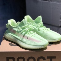 Adidas Yeezy Boost 350 V2 GID Spring Fluorescent Green EH5360 Fashion Sneakers - Best Online Sale