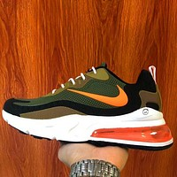 elainse29 Nike air max 270 Breathable casual running sneakers barb Green