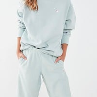 Champion Crew neck Sweatshirt Longline Terry Shorts Two-piece