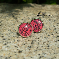 Fire Nation Earrings from Avatar the Last Airbender