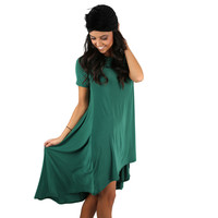 Prettier Everyday Dress Emerald