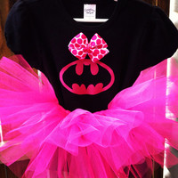 Batman baby/toddler costume with tutu