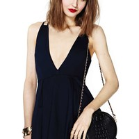Nasty Gal Night And Day Dress - Navy